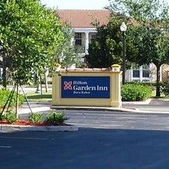 Photo taken at Hilton Garden Inn Boca Raton by Finley W. on 4/5/2014