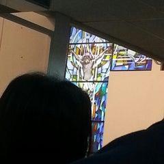 Photo taken at St. Simon Catholic Church by Aaron Xavier M. on 12/24/2013
