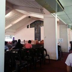 Photo taken at St. Simon Catholic Church by Aaron Xavier M. on 4/18/2014