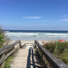 Photo taken at Wilbur-by-the-Sea Beach by Hannah W. on 10/31/2015