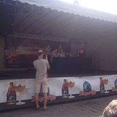 Photo taken at Sint-Veerleplein by Lotte S. on 7/21/2015
