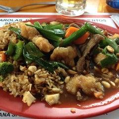 Photo taken at Oriental wok by Luis R. on 7/24/2014