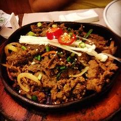 Photo taken at Auntie Kim's Korean Restaurant by Wei Meng S. on 3/18/2014