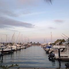 Photo taken at Marina Riviera Nayarit by Laura A. on 4/30/2016