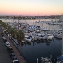 Photo taken at Marina Del Rey pier by Jason H. on 11/1/2012