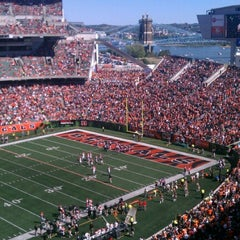 Photo taken at Paul Brown Stadium by Rick D. on 9/16/2012