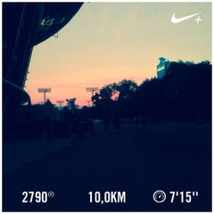 Photo taken at Jogging Track by Ibrahim S. on 8/24/2015