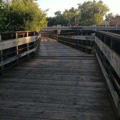 Photo taken at Lansing River Trail by Erin C. on 9/7/2014