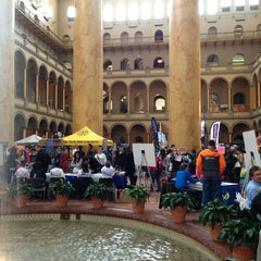 Photo taken at National Building Museum by Rominna on 4/6/2013