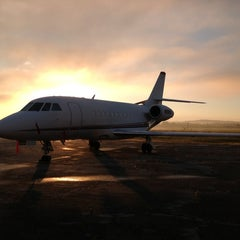 Photo taken at Richmor Aviation @ KPOU by Chris L. on 1/4/2013