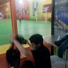Photo taken at Vidi Arena Futsal by Ikram R. on 1/22/2014