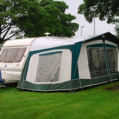 Photo taken at Alton the Star Camping and Caravanning Club Site by Denise H. on 8/12/2014