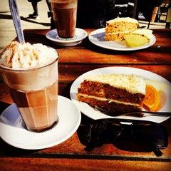 Photo taken at Den Franske Café by Yusuf L. on 4/10/2015