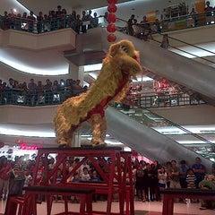 Photo taken at Mega Mall by Pricilia P. on 1/31/2014