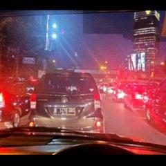 Photo taken at Jalan Tol Dalam Kota by Putri E. on 4/10/2013
