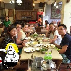 Photo taken at จันทน์หอม (Janhom) by Aey p. on 5/23/2015