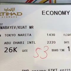 Photo taken at NRT - GATE 53 (Terminal 1) by Kuat T. on 2/9/2014