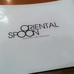 Photo taken at 오리엔탈스푼 (ORIENTAL SPOON) by Youngrae Roh on 12/19/2013