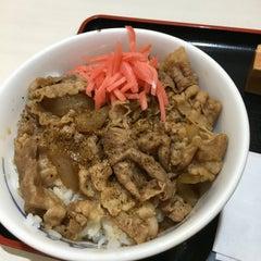Photo taken at 松屋 高田馬場店 by MINT on 4/19/2016