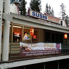 Photo taken at Sushi House by Jason U. on 5/9/2014