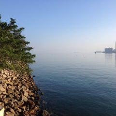 Photo taken at Ma Liu Shui Ferry Pier 馬料水渡輪碼頭 by Nicole N. on 2/2/2014