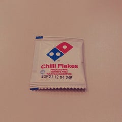 Photo taken at Domino's Pizza by Fahmi R. on 5/22/2014