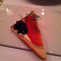 Photo taken at Petrossian Boutique & Cafe by Artie P. on 3/29/2012