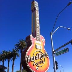 Photo taken at Hard Rock Cafe Las Vegas at Hard Rock Hotel by Chris R. on 10/9/2012