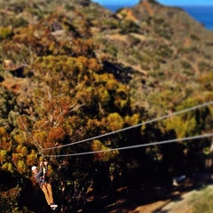 Photo taken at Zip Line Eco Tour by Cameron K. on 4/2/2014