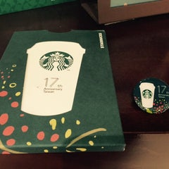 Photo taken at Starbucks 永福門市 by Janice H. on 3/27/2015