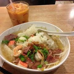 Photo taken at Bangkok Noodles by Tayson H. on 5/20/2013