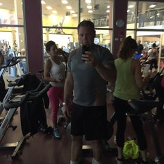 Photo taken at LA Fitness by Charles R. on 3/29/2015