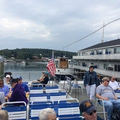 Photo taken at Cap'n Fishs Cruises (AKA Maine Whales) by Eyal G. on 8/6/2014