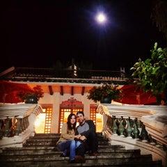 Photo taken at Hacienda Uzhupud by Andres O. on 4/4/2015
