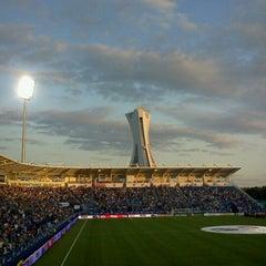 Photo taken at Stade Saputo by Julia E. on 7/19/2012