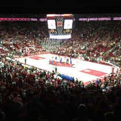 Photo taken at Bud Walton Arena by Brian W. on 2/6/2013