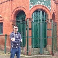Photo taken at Salford Lads Club by Sam C. on 8/9/2014