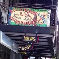 Photo taken at Boudreaux & Thibodeaux's by Graceland F. on 4/17/2014