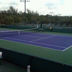 Photo taken at Crandon Tennis Center by pablo r. on 2/18/2013