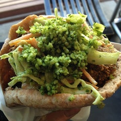 Photo taken at Maoz Vegetarian by Matthew M. on 2/14/2013