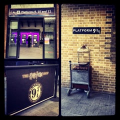 Photo taken at Platform 9¾ by Martina L. on 1/12/2013