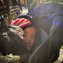 Photo taken at Rudin Family Playground by Mark O. on 12/7/2014