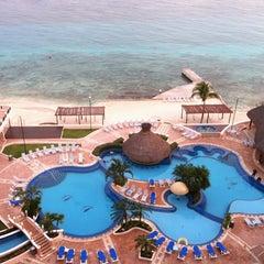 Photo taken at El Cozumeleño Beach Resort by Lauren C. on 5/13/2013