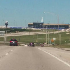 Photo taken at Kansas Speedway by Nick L. on 6/8/2015