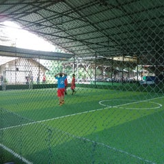 Photo taken at Cimahpar Futsal by Jarip Aripudin Almamuni on 2/14/2015
