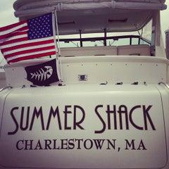 Photo taken at Champlin's Marina by Jon D. on 8/31/2013