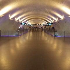 Photo taken at Metro Baixa-Chiado [AZ,VD] by Guido L. on 5/25/2013