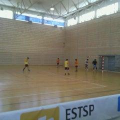 Photo taken at Pavilhão Desportivo do IPP by Ricardo S. on 5/31/2014