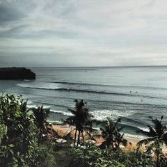 Photo taken at Balangan Beach by Peter C. on 5/30/2013