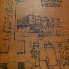 Photo taken at 1900 Pizzeria by Victor F. on 11/21/2012